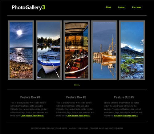 Photo Gallery 3 theme