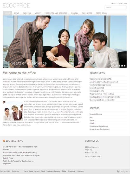 eco-office-wordpress-theme