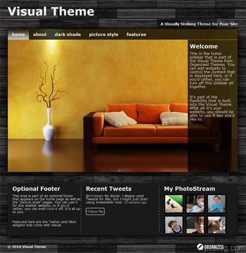 Visual Premium WordPress Theme
