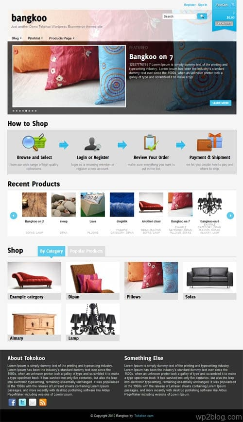 Bangkoo Ecommerce WordPress Theme