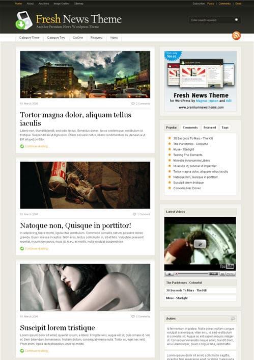 freshnews-theme