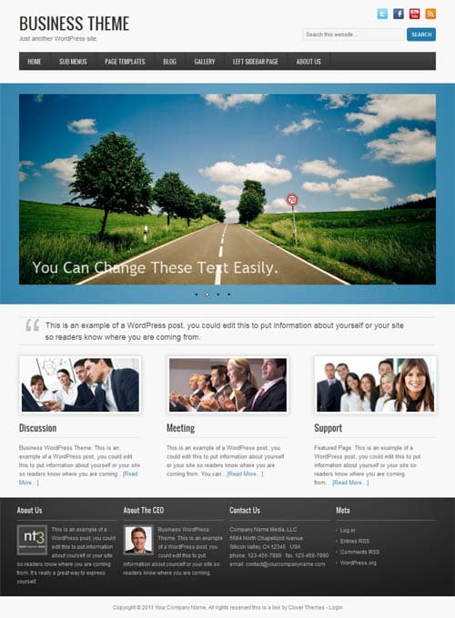 clover-business-theme