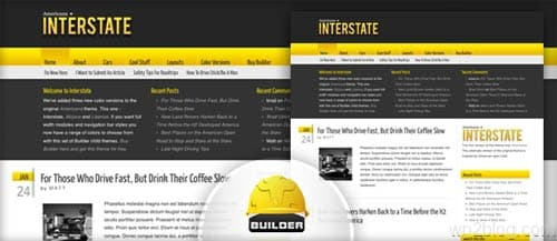 americana interstate wordpress theme