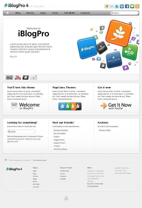 iBlogPro-theme
