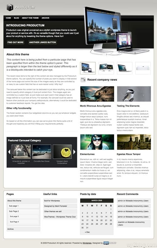 productum wordpress theme