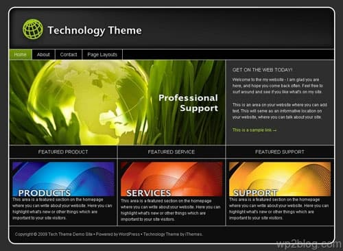 tech theme ithemes