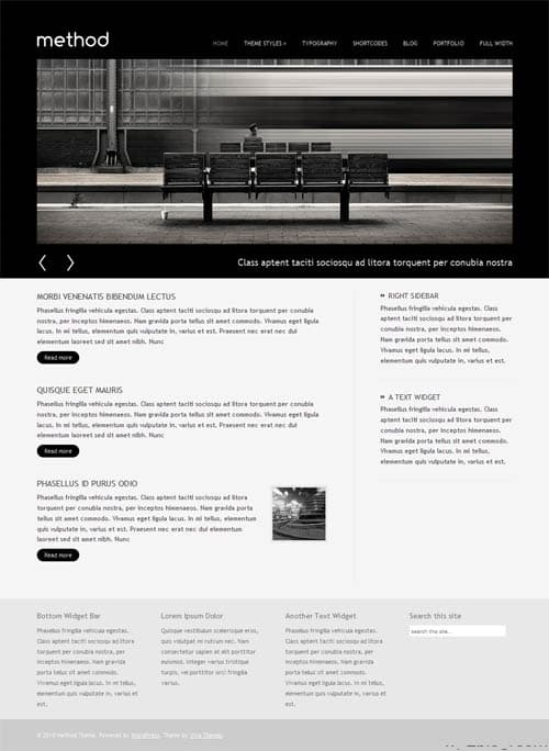 Method Business Portfolio WordPress Theme