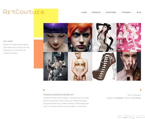 ArtCouture Premium WordPress Theme