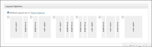 genesis layout options