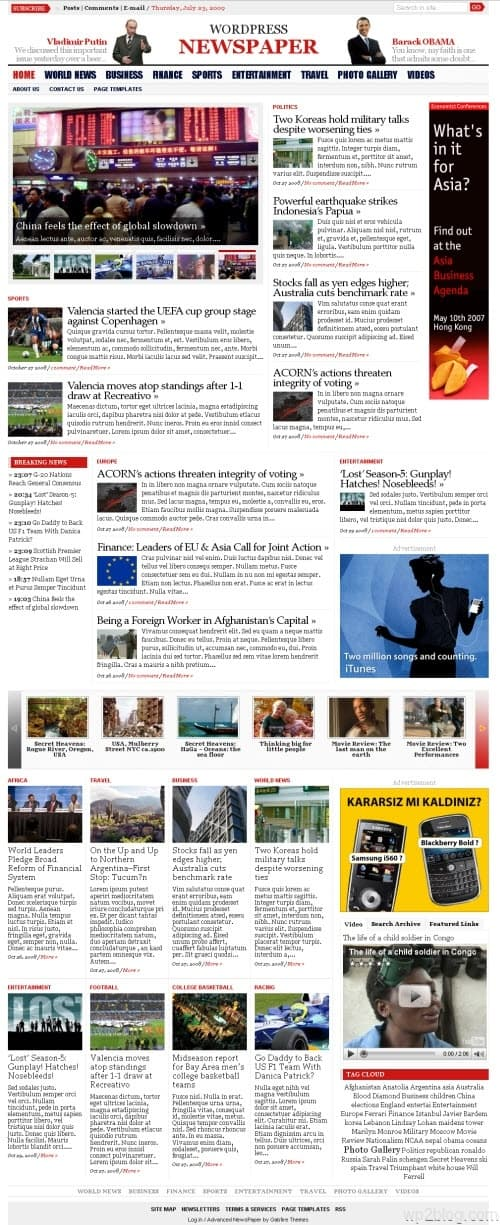 wp advanced newspaper version1.2