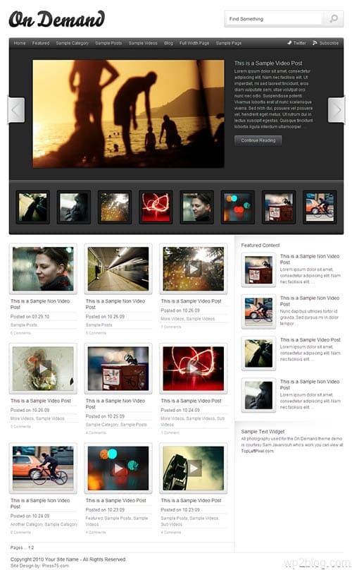 on demand 2.0 wordpress theme