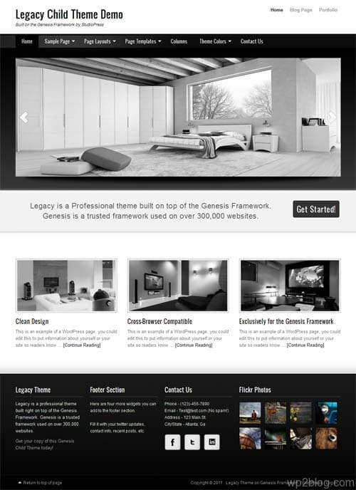Legacy Premium WordPress Theme