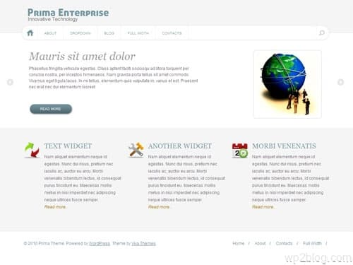 Prima Business WordPress Premium Theme