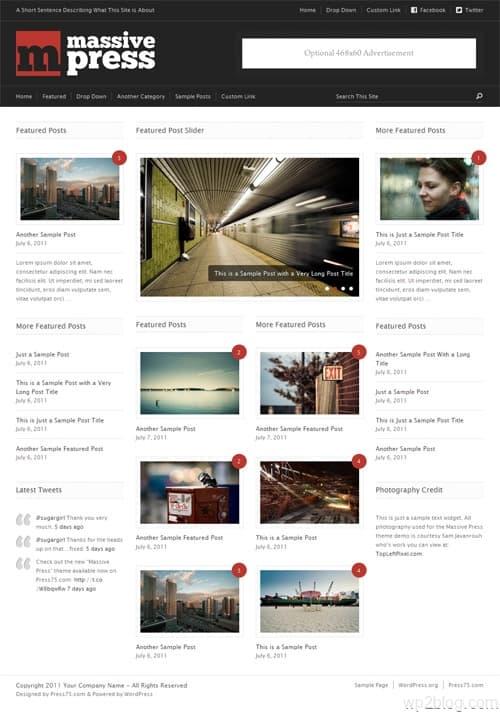 Massive Press Premium WordPress Theme