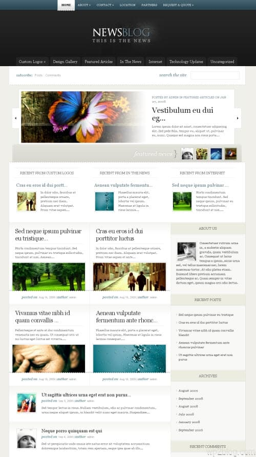 eNews Premium WordPress Theme