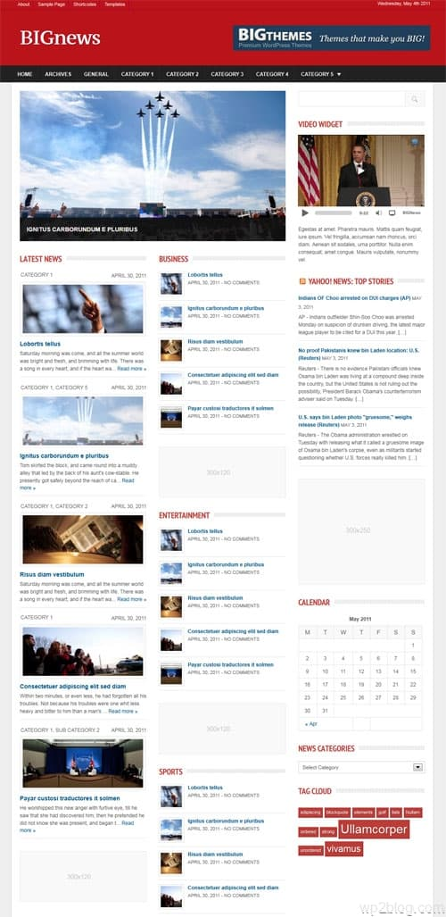 Big News Premium WordPress Theme