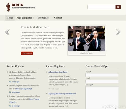 berita pro wordpress theme