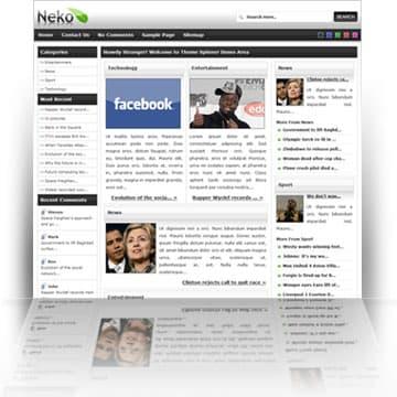 Neko WordPress Theme