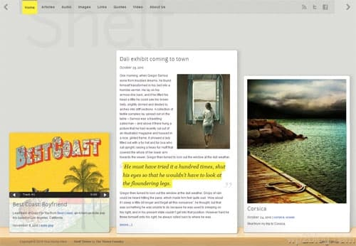Shelf Premium WordPress Theme