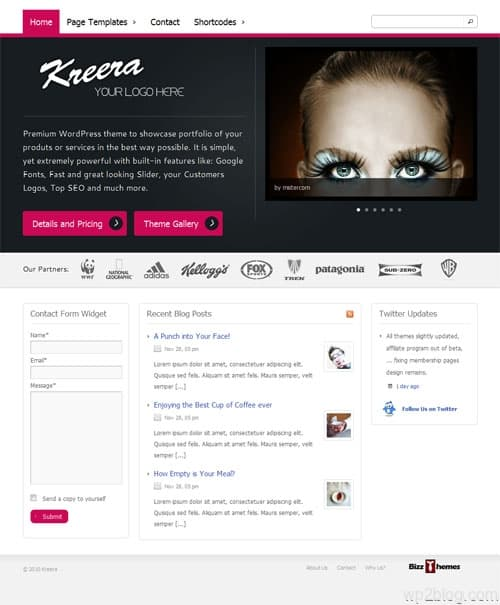 Kreera Business Premium WordPress Theme