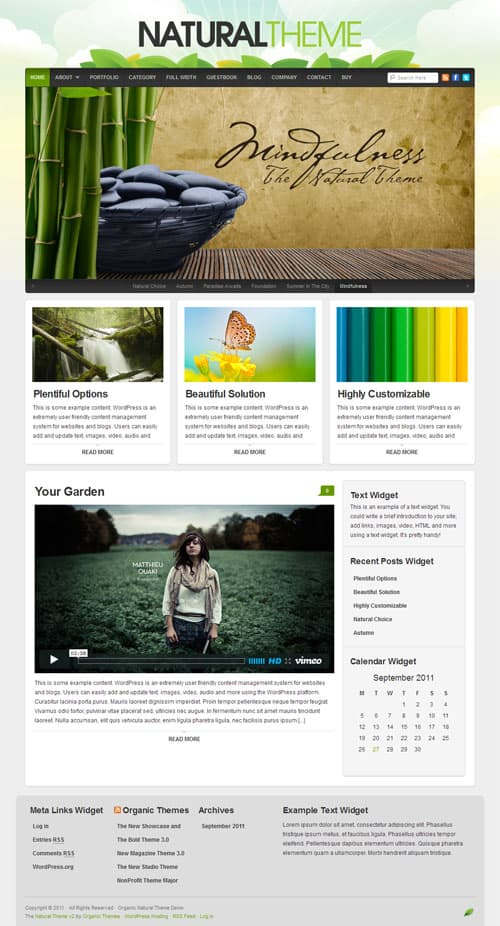 natural-wordpress-theme