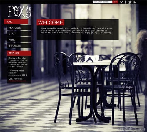 Foxy Business Premium WordPress Theme