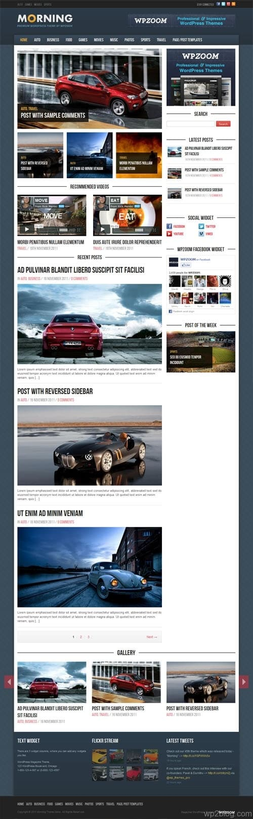 WordPress Magazine Theme