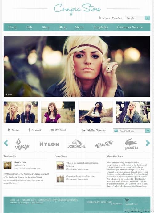 Compra Ecommerce WordPress Theme