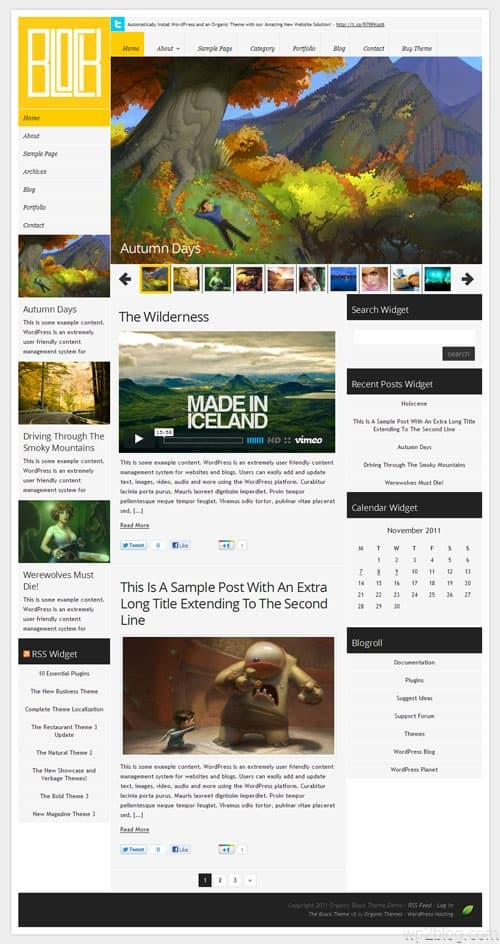 The Block 3.0 Premium WordPress Theme