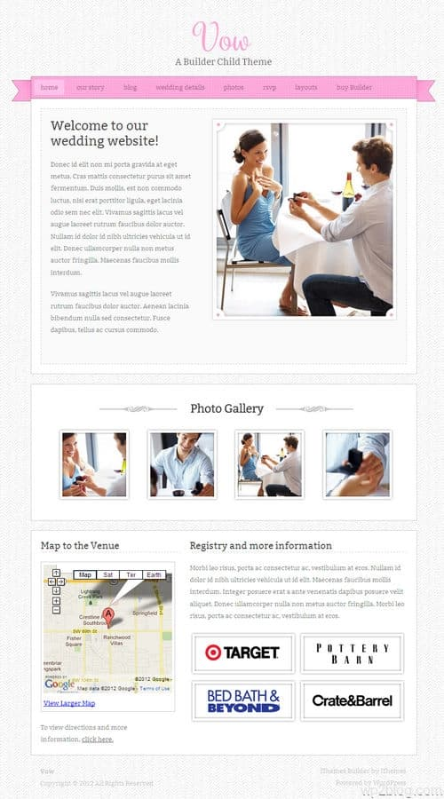 Vow WordPress Theme