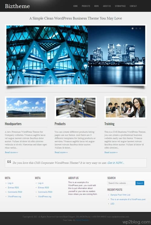 CoBusiness WordPress Theme