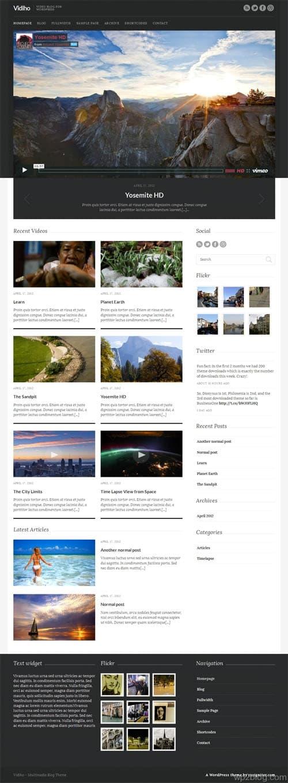 vidiho wordpress theme