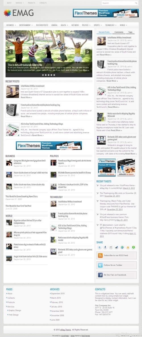 eMag WordPress Theme