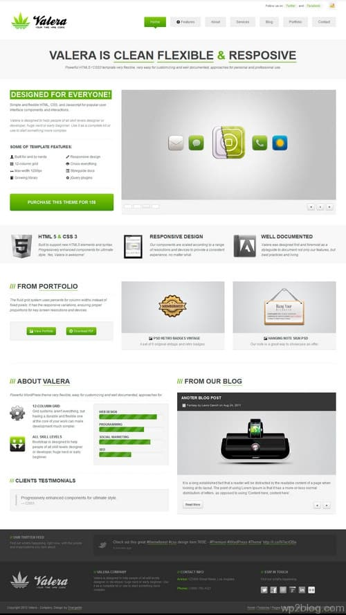 Valera WordPress Theme