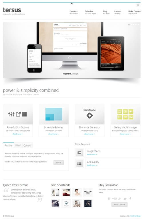 Tersus WordPress Theme