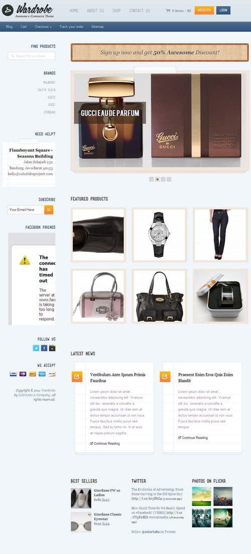 Wardrobe WordPress Theme