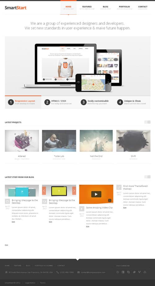 SmartStart WordPress Theme
