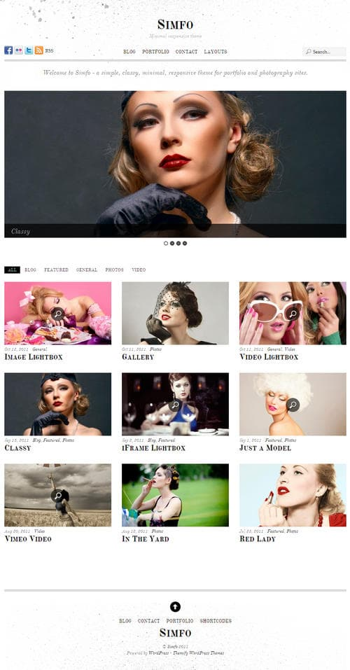Simfo WordPress Theme