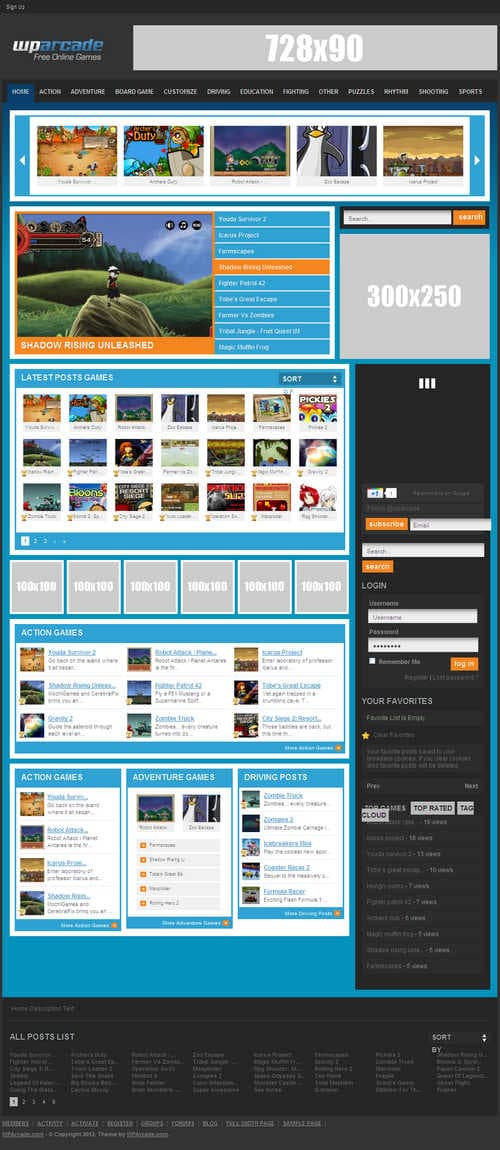 BuildWPA WordPress Theme