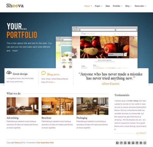 Sheeva WordPress Theme