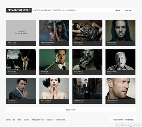 Creative Grid Pro WordPress Theme