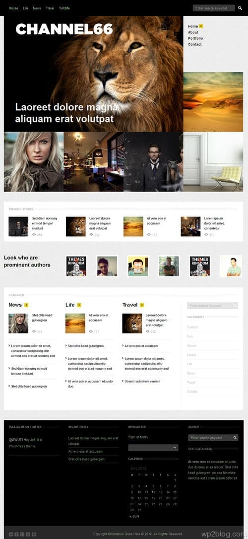 Channel66 WordPress Theme
