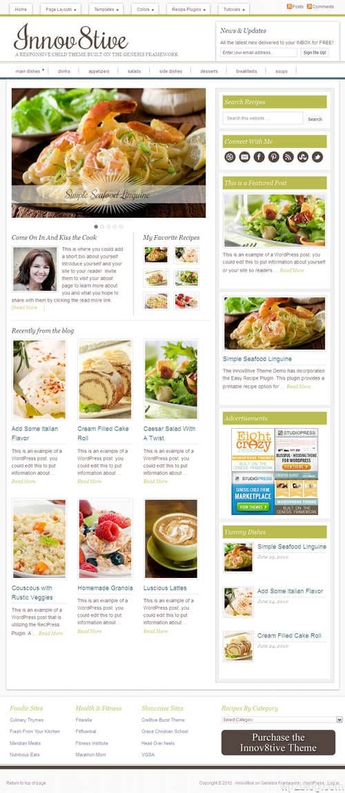 Innov8tive 1.0 WordPress Theme