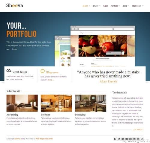 Sheeva WordPress Theme