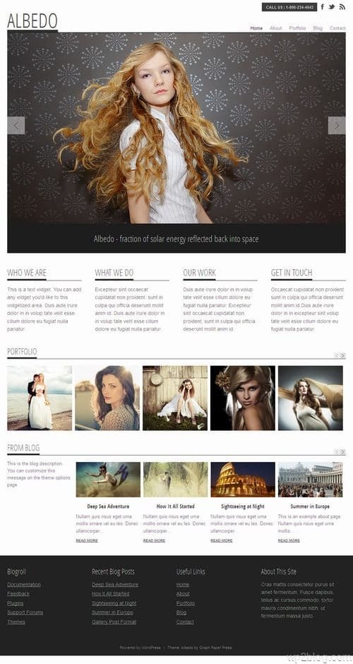 Albedo WordPress Theme