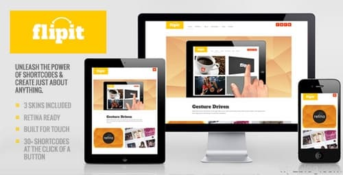 Flipit WordPress Theme