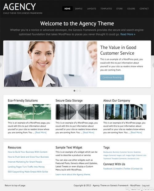 Agency 2.0 Child Theme