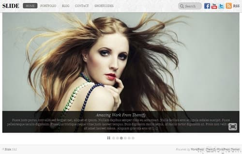 Slide WordPress Theme