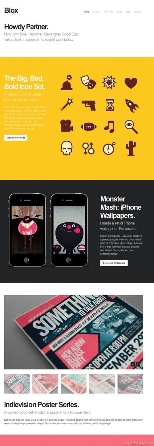 Blox WordPress Theme