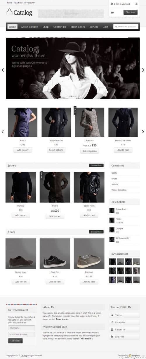 Catalog WordPress Theme